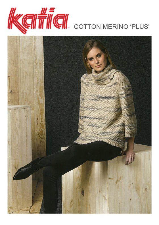 TX441 Cotton Merino Plus Sweater