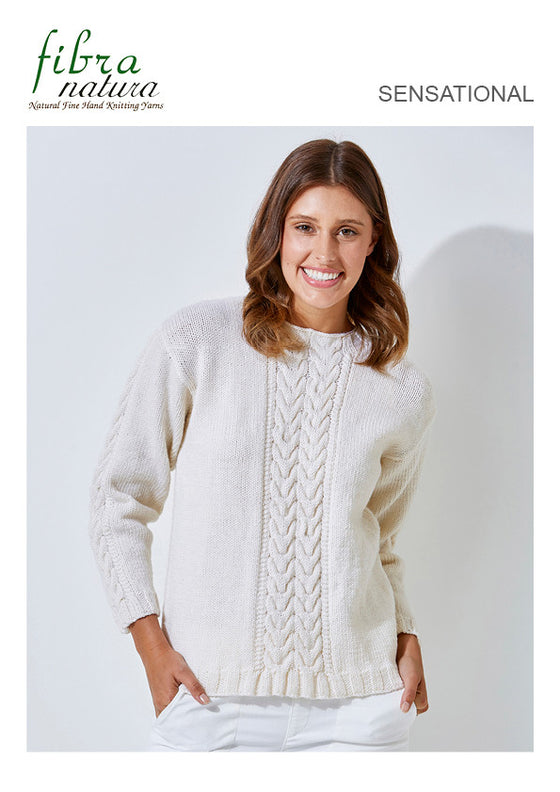 TX470 Sensational Round Neck Jumper