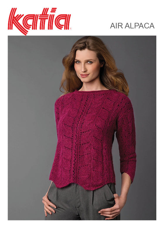 TX492 Air Alpaca Lacy Jumper