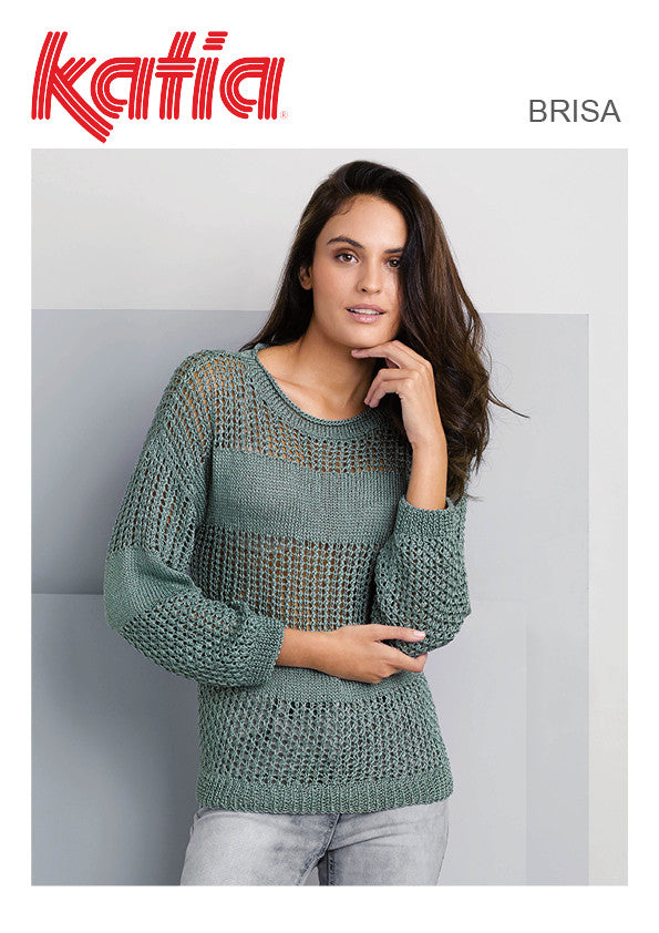 TX504 Brisa Lace Round Neck Jumper