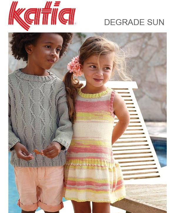 TX513 Degarde Sun Girls Summer Dress
