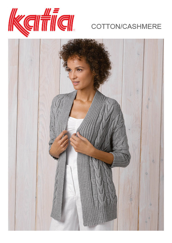 TX519 Cotton/Cashmere Cardigan