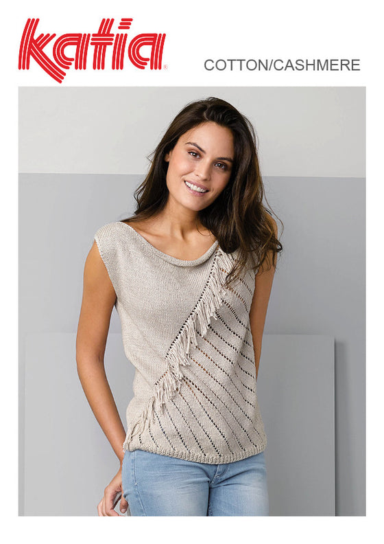 TX520 Cotton/Cashmere Top