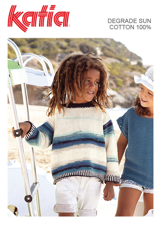 TX591 Degrade Sun Kids Jumper