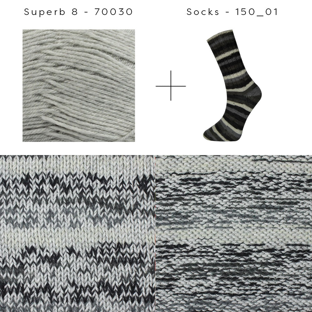 Superb 8 + Socks