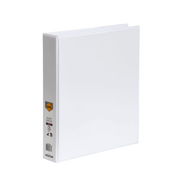 Binder 4D A4 38mm Insert White
