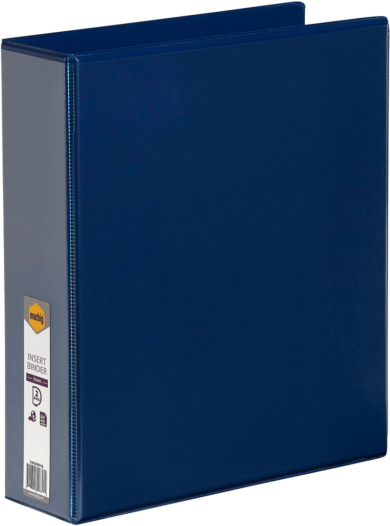 Binder 2D A4 50mm Insert Blue