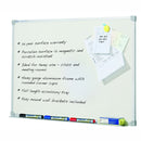 Whiteboard Porcelain 900 x 600mm