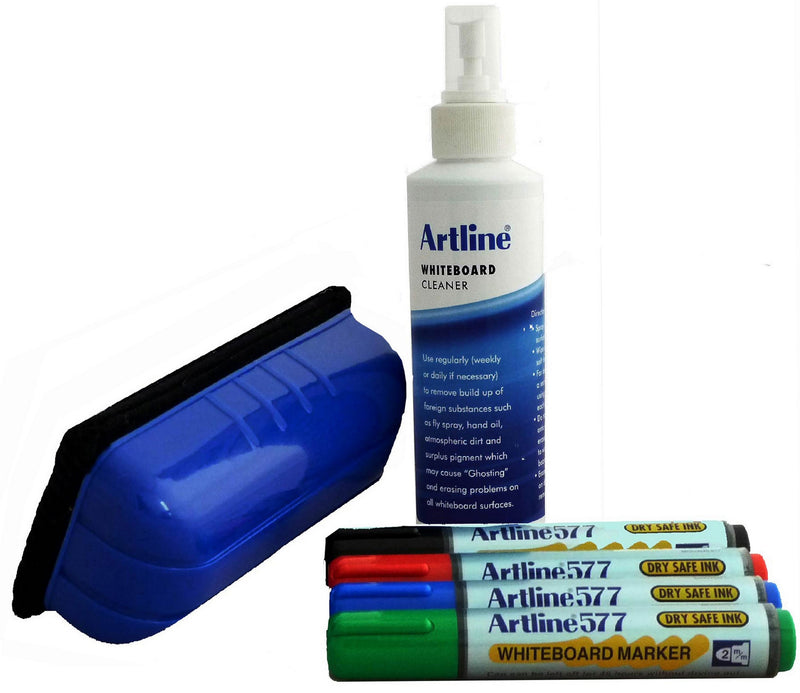Artline Whiteboard Starter Kit Complete