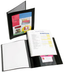Marbig Display Book Refillable Black Frame