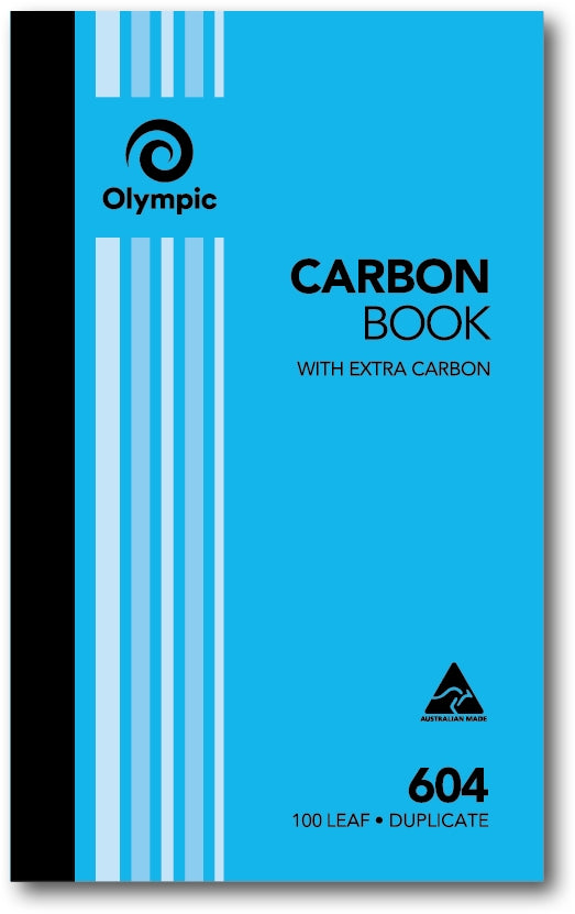 Olympic 604 Carbon Book Duplicate 8x5 100 Leaf