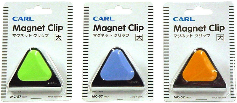 Carl Mc57 Magnetic Clip 60mm Blue