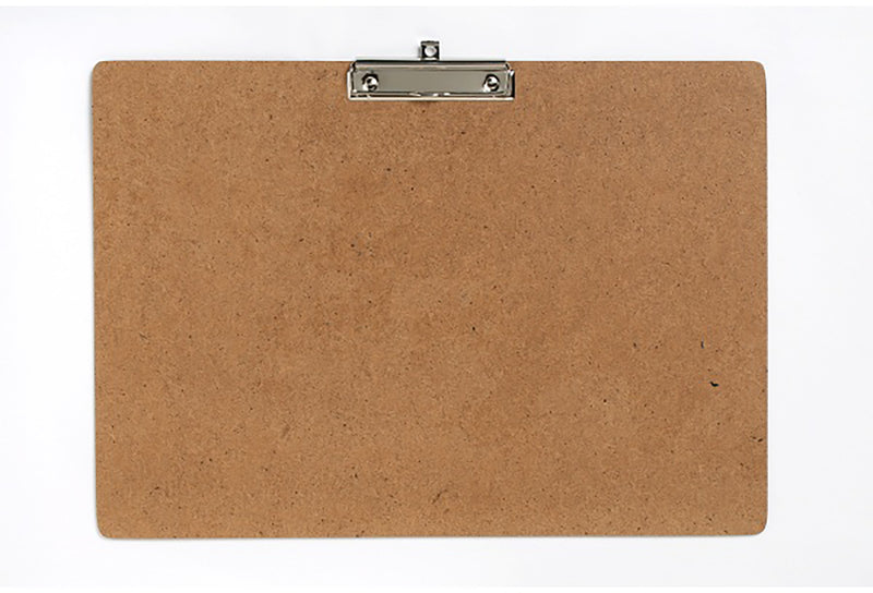 Clipboard Masonite A3 Heavy Duty Clip Landscape