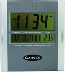 Carven Wall Clock CLDIGITAL Square Digital Each