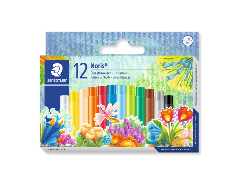 Crayon Oil Pastels Small 12 Pack