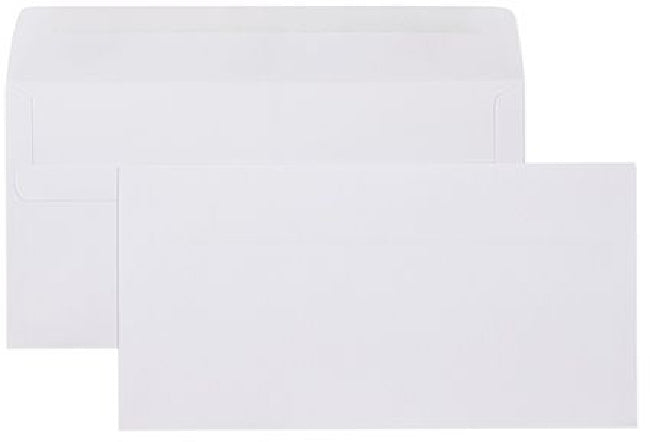 Envelope DLX 120x235 Plain Self Seal 500 Pack