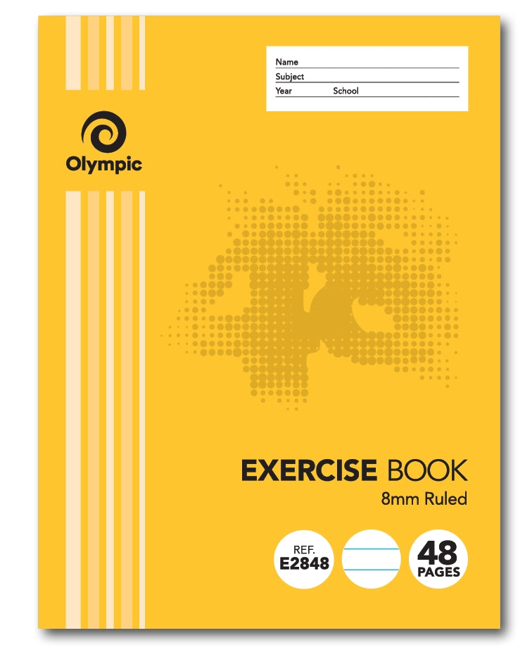 Olympic Exercise Book 48 Page Wired