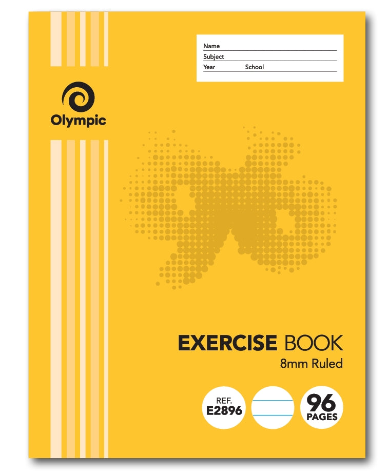 Olympic Exercise Book 96 Page Wired