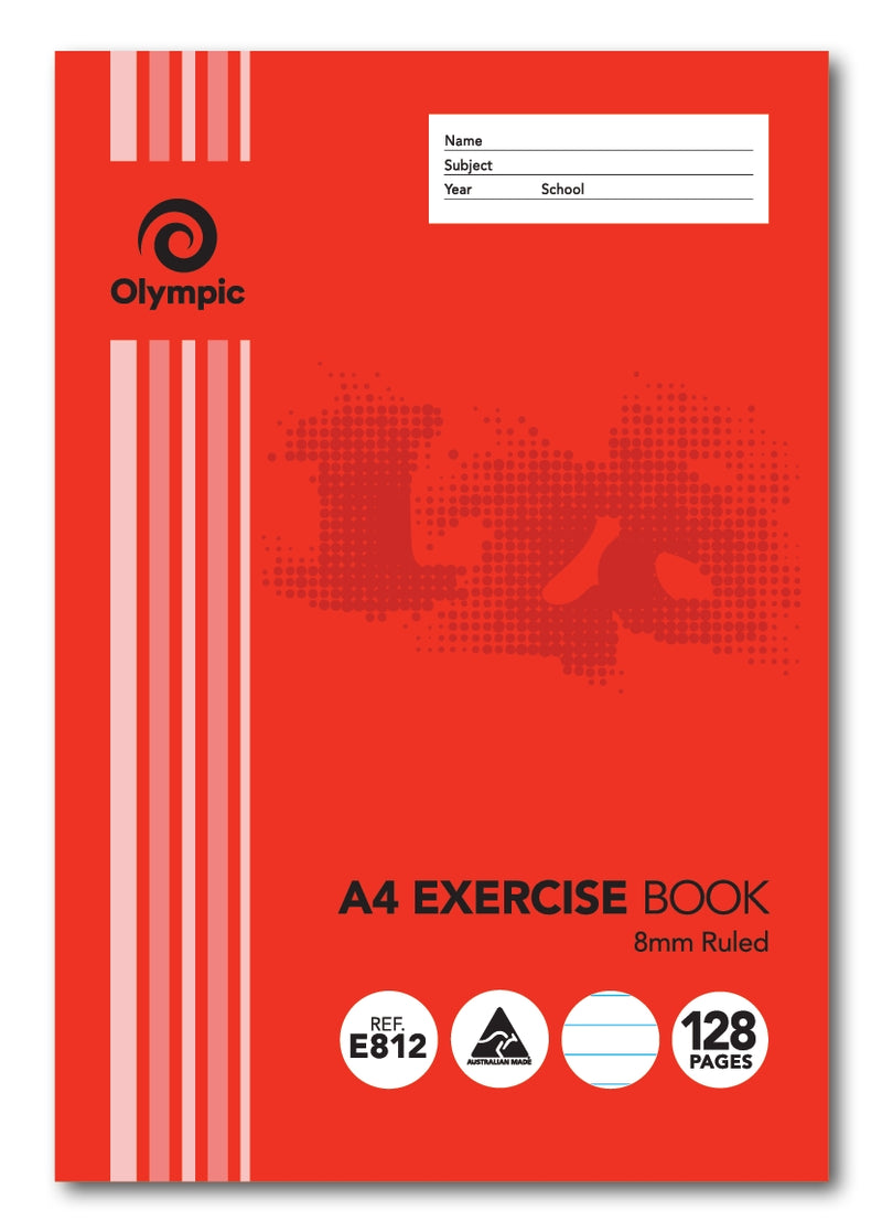 Exercise Book 140751 A4, 128 Page