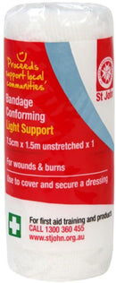 First Aid Conforming Bandage 7.5cmx1.5m
