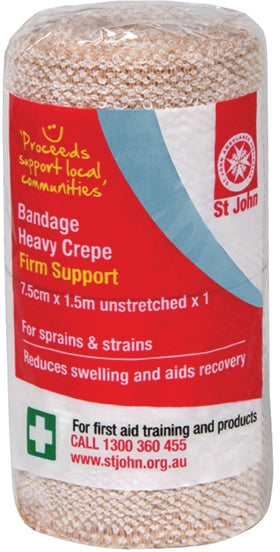 First Aid Crepe Bandage Heavy 7.5cm