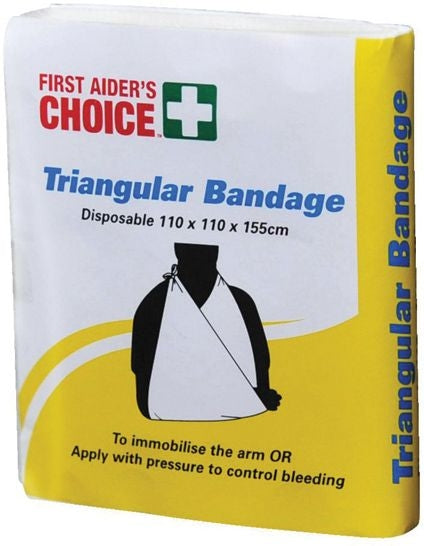 Triangular Bandage 110x110x155cm Calico