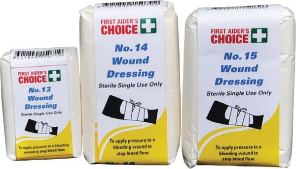 First Aid Wound Dressing No 15