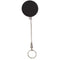 Retractable Steel Cable Black Key Holder