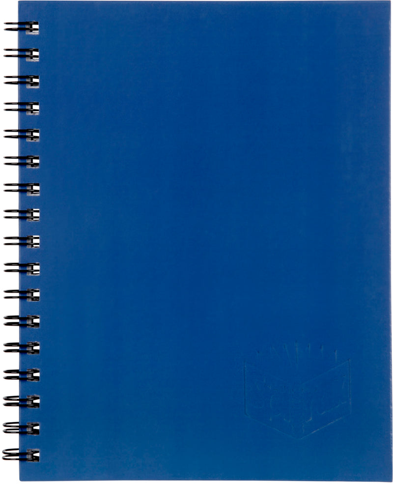 Spirax 511 Hard Cover Book 225x175mm 200 Page Blue