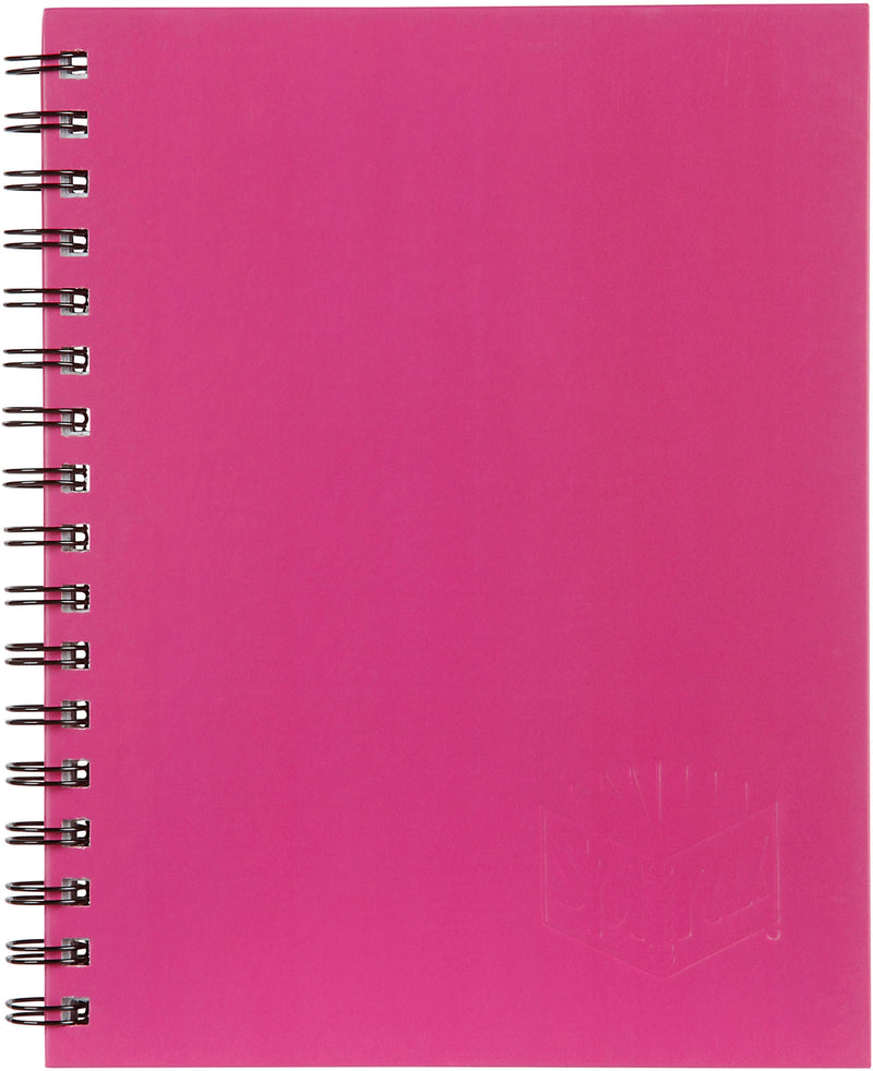 Note Book 512 Hard Cover A4, 200 Page Pink