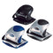 Rexel Precision P215 2 Hole Punch 15 Sheets (Small)  Silver/Blue