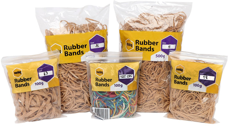 Rubber Bands 100gm
