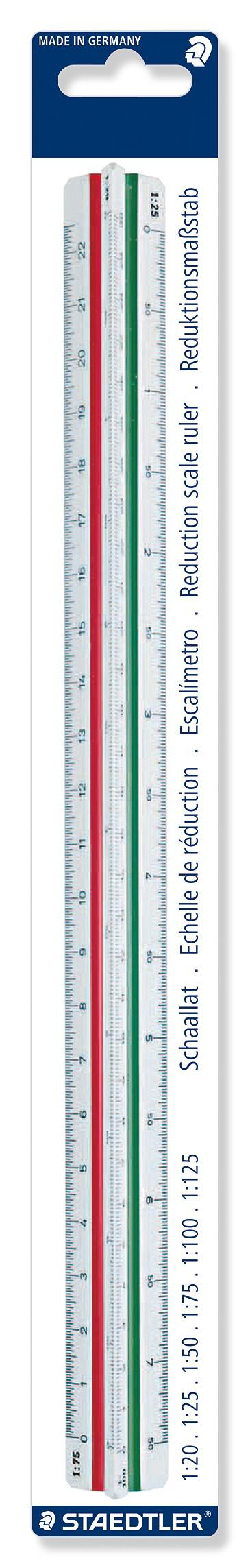 Staedtler 1 Triangular Scale Ruler