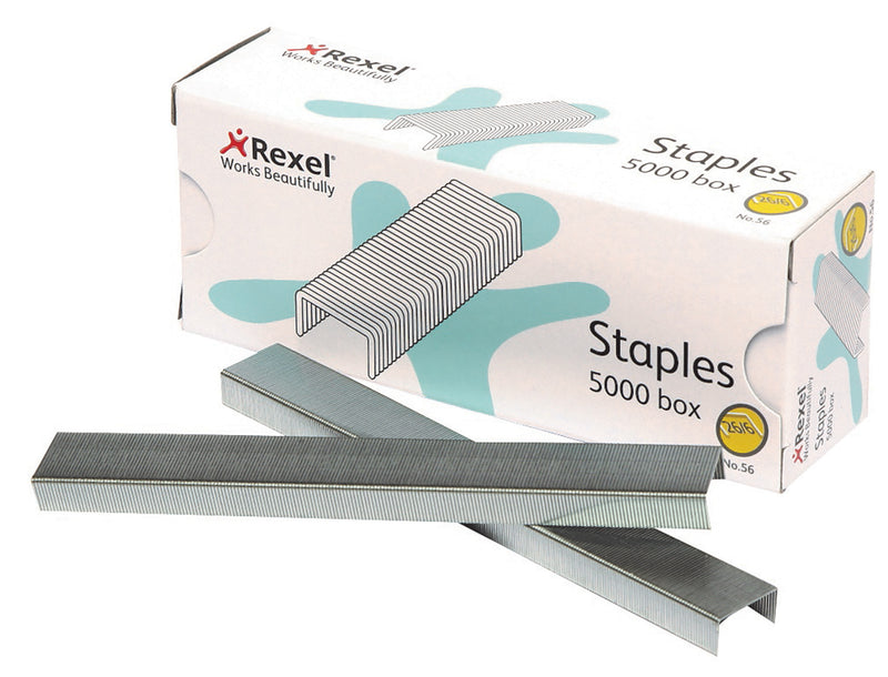 Rexel 26/6 Aspire No56 5000 Pack Staples