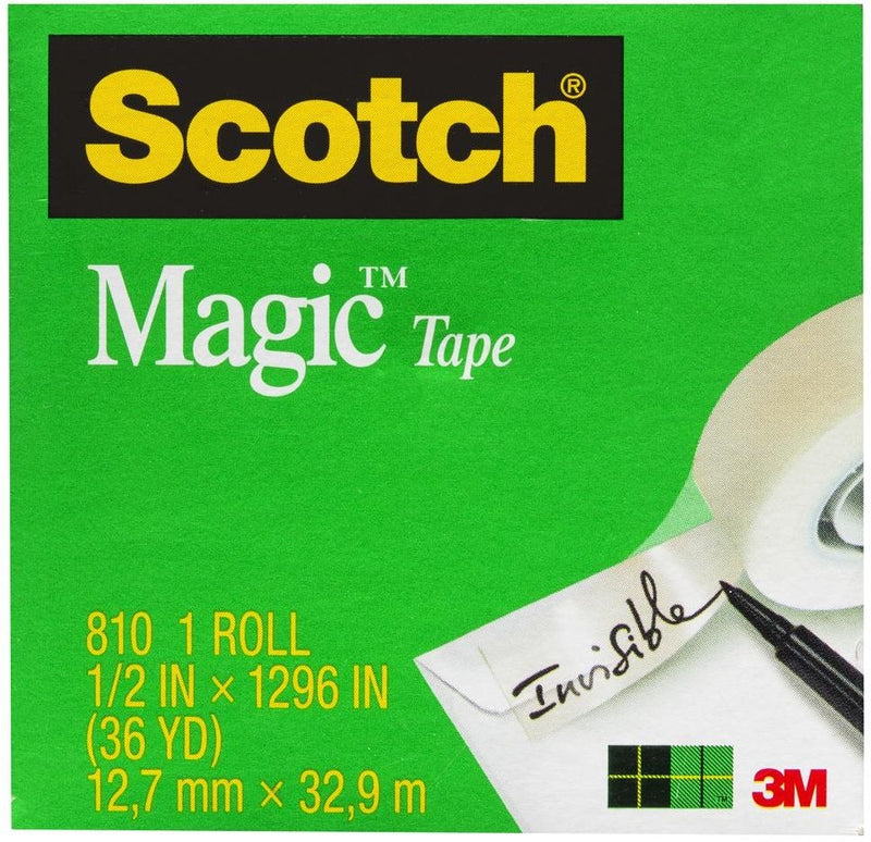 Tape 810 Magic 12.0mm x 32.9m Boxed