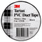 3m Tartan PVC Duct Tape 50mm x 30m Black