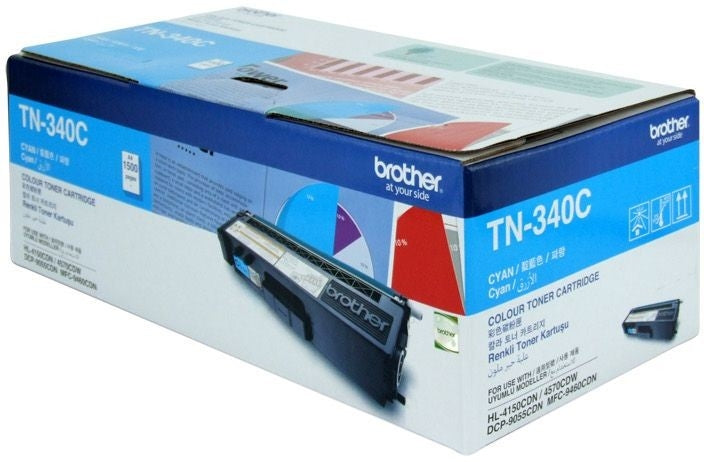 Brother Toner TN340 Toner Cyan 1.5k