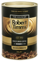 Robert Timms Premium Freeze Dry Coffee 500g