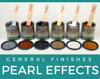 General Finishes Glaze and Pearl Effects
