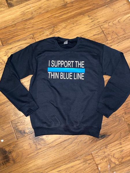 Blue Line Sweatshirt