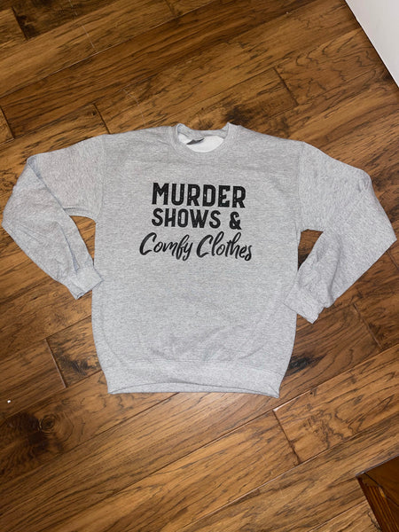Murder Shows Crewneck