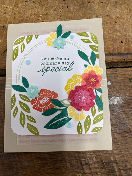 Stampin' Up Card Workshop- Saturday, April 18th @ 10am