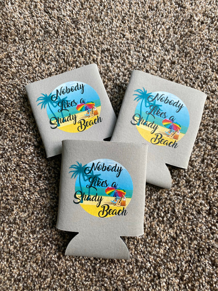 Shady Beach Koozie