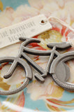 "Bicycle ""Let's Go On An Adventure"" Bottle Opener (Antique Pewter Finish)"