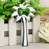 Palm Tree Bottle Opener Favor (Chrome/Silver)