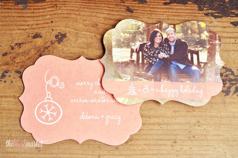 Engagement Announcement Vintage Ornate