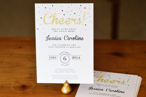 Bridal Shower Cheers Invitation
