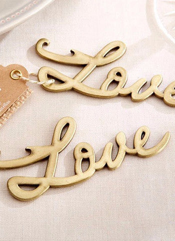 Love Bottle Opener (Antique Gold)