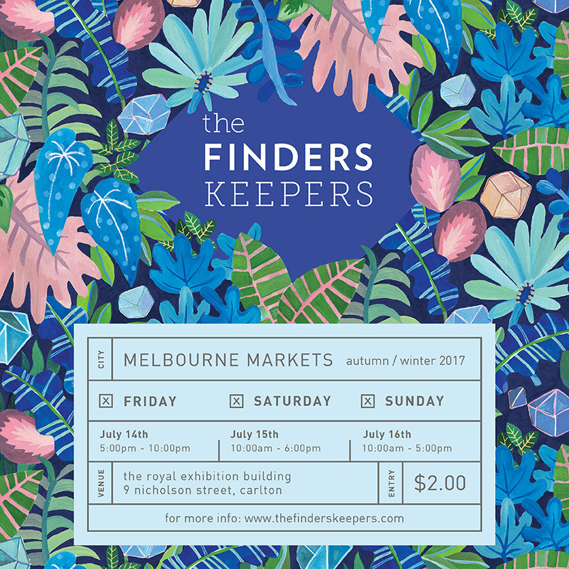 Find Us at Finders Keepers