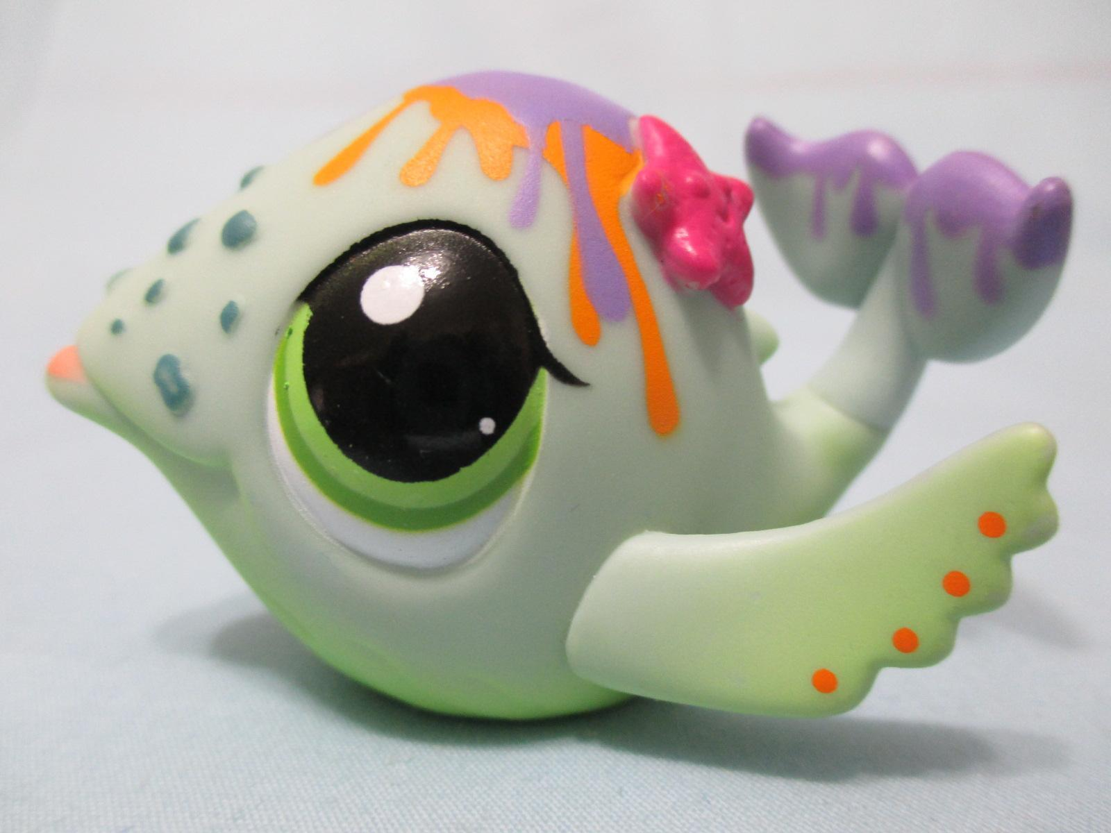 Littlest Pet Shop Fish Whale Dolphin 1852 Authentic Lps Lpsqueencom